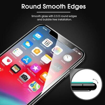 3-Pack Premium Tempered GLASS Screen Protector For iPhone X  XS  XR  XS Max
