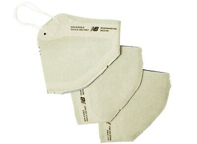 Set Of 3 New Balance 4 Layer Over The Ear Face Mask Grey 100 Authentic