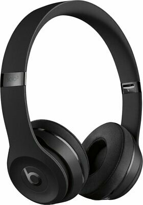 Beats by Dr- Dre Solo3 Wireless Matte Black Beats Icon Collection On Ear
