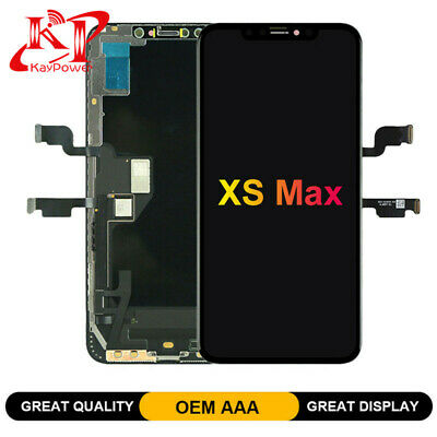 For iPhone XS Max Black Display LCD Touch Screen Digitizer Assembly Replacement