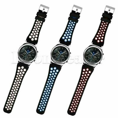 22mm Silicone Watch Band Wrist Sport Strap Bracelet For Samsung Gear S3 Frontier