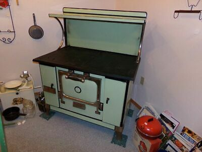Antique Monarch Malleable Wood Burning Stove Beautiful