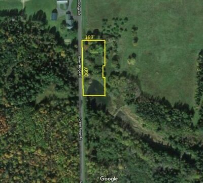 1-35 acre rural wooded lot in Caribou Maine with pond Aroostook County