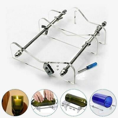 US Glass Bottle Cutter Kit Beer Wine Jar DIY Cutting Machine Craft Recycle Tools