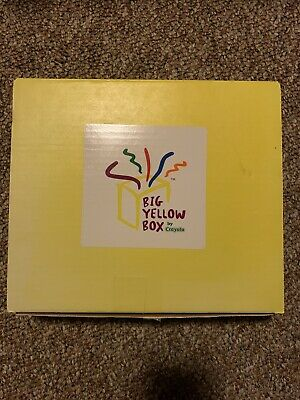 Pressed For Time Grande Big Yellow Box By Crayola