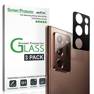 Samsung Galaxy Note 20 Ultra Glass Screen Protector for Back Camera Lens 3 PK
