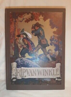 Rip Van Winkle by Washington Irving 1921 Hardcover 1st Edition