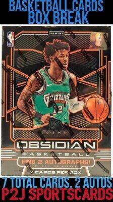 Panini 1920 Basketball Obsidian CARD BOX BREAK🏀1 RANDOM TEAM🏀NBA🏀Break 3407