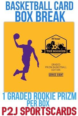Hit Parade 1920 Basketball GRADED PRIZM CARD BOX BREAK1 RANDOM TEAM Break 3413