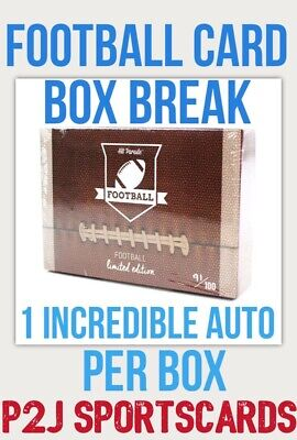 Hit Parade 2020 Limited FOOTBALL CARD Box BREAK🏈1 RANDOM TEAM🏈NFL🏈Break 3428