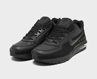 Nike Air Max LTD 3 Shoes Triple Black 687977-020 Mens NEW