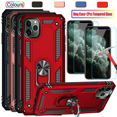 iPhone 12 Pro Max 6 7 8 11 Plus XS XR X Shockproof Case with Screen Protector