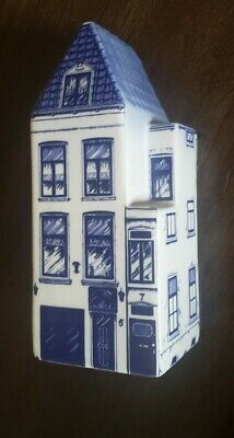 Delft Blue Hand Painted 11 Canal House Made in Holland