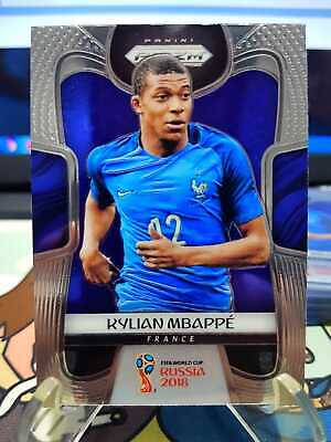 Panini Prizm World Cup Soccer 2018 Kylian Mbappe Base  80 - RC Investment