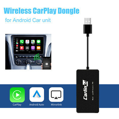 Bluetooth CarPlay iPhone Android Auto link Navigation Player Wireless USB Dongle