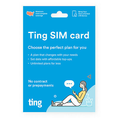 Ting Mobile Sim Card for Unlocked Phones