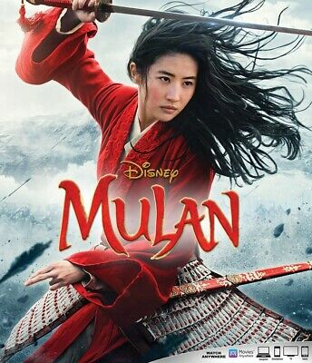 MULAN 2020 live action Blu-ray disc Only Please read