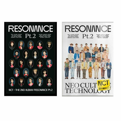 NCT THE 2ND ALBUM RESONANCE PT-2 DEPARTURE  ARRIVAL all package dhl shipping