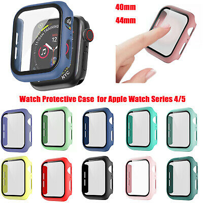 40mm 44mm Watch Protective Case Set Full Cover for AppleWatchSeries 45 BE