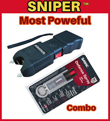 COMBO Military Grade Stun Gun 650BV - Police Grade Pepper Spray