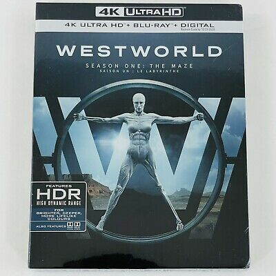 Westworld Season One  The Maze 4K Ultra HD - Blu-ray Season 1