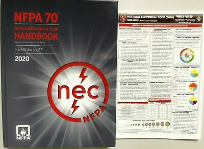 2020 National Electrical Code Handbook and NEC 2020 Quick Card