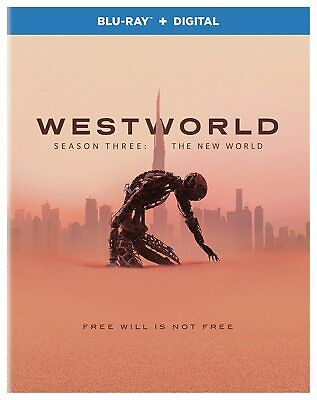 Westworld Season 3 3 discs Blu-ray Only Disc Please Read