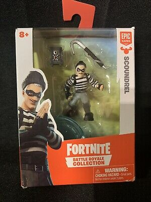 Fortnite Battle Royale Collection Epic Games- Scoundrel Figure- NEW IN THE BOX