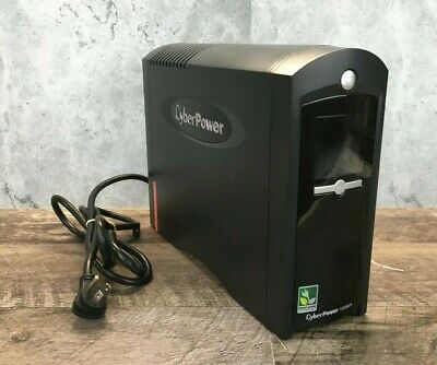 Cyber Power CP1500AVRCP1500C LCD Battery Backup 1500VA 900W Untested