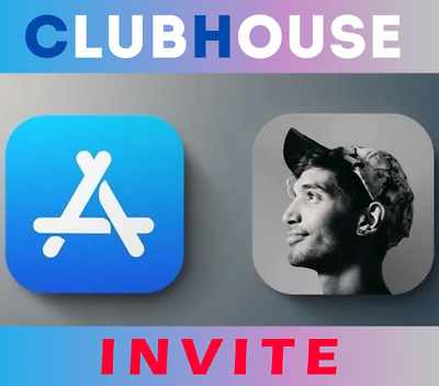 Clubhouse Invite 🔥 Instant Delivery 🔥App Invitation iOS GUARANTEED