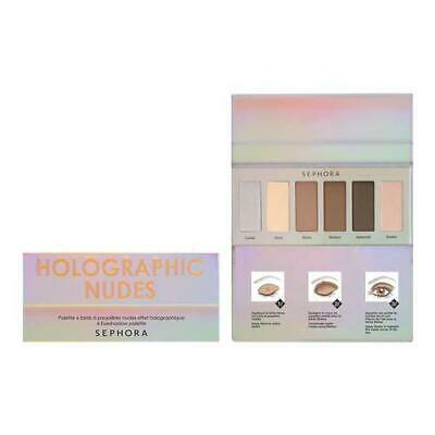 SEPHORA COLLECTION Holographic Nudes 6 Eyeshadow Palette 100 Authentic Sealed