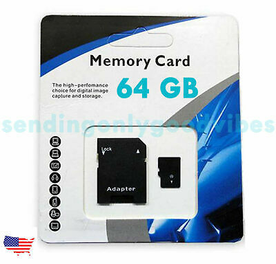 64GB Universal Micro SD SDXC TF Flash Memory Card Class 10