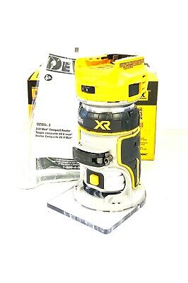 DEWALT DCW600B 20V MAX XR Compact Router New Bare-Tool