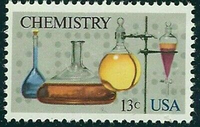 1685 Chemistry US Single Stamp Mintnh Free Shipping