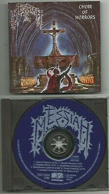MESSIAH (Swi) : CHOIRS OF HORRORS CD 1991 NOISE RECORDS ORG 1ST PRESSING CORONER
