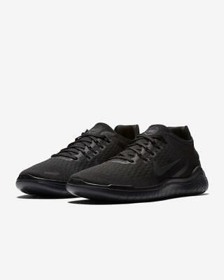 NIKE FREE RN 2018 Mens Shoes BlackAnthracite Pick Size 942836 002 NEW IN BOX