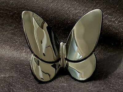 Baccarat PAPILLON LUCKY BUTTERFLY Crystal FigurineCollectible