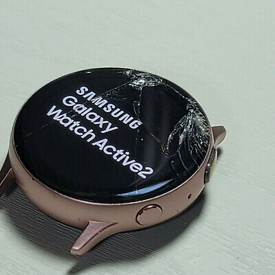 Samsung Galaxy Watch Active 2 SM-R830 40mm Aluminum Pink Gold 4GB-cracked glass