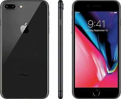 Apple iPhone 8 Plus 64GB Space Gray Factory Unlocked - Very Good Condition