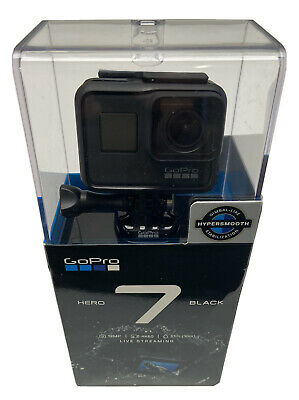 GoPro HERO7 Action Camera - Black - New- Free Same Day Or Next Day Shipping