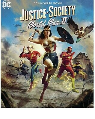 Justice Society World War II Blu-ray disc Only Please read