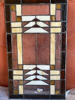 stained glass panel vintage