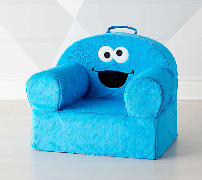 NWT Crate - Barrel Kids The Land of NOD Sesame Street Cookie Monster chair cover
