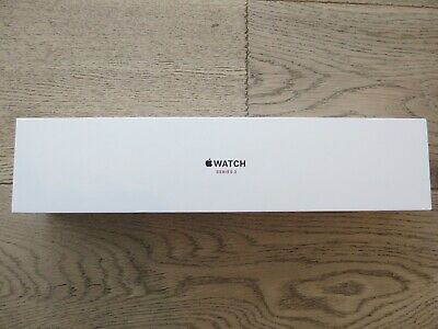 Apple Watch Series 3  Empty Box Only - 38 mm - NO WATCH - Space Gray