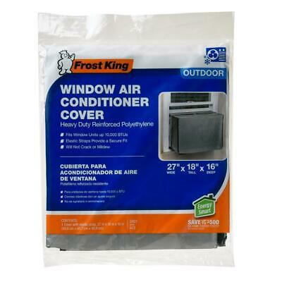 Frost King Vinyl Outside Window Air Conditioner Cover for Small Units