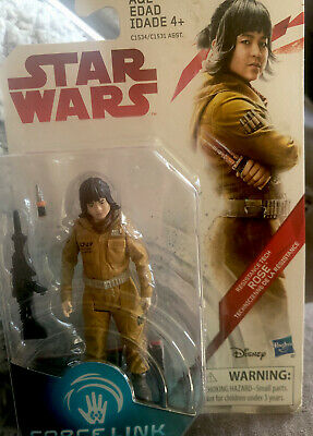 Star Wars Rose Action Figure The Last Jedi 3-75 Inch Hasbro Force Link