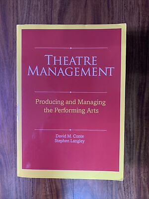 Theatre Management  Producing and Managing the Performing Arts by Stephen-