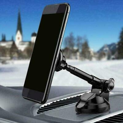 Telescopic Mount Stand Car Phone Holder Magnetic Cradle Windshield  A5T3