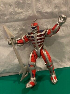 Bandai Mighty Morphin Power Rangers Evil Lord Zedd Action Figure With Weapon