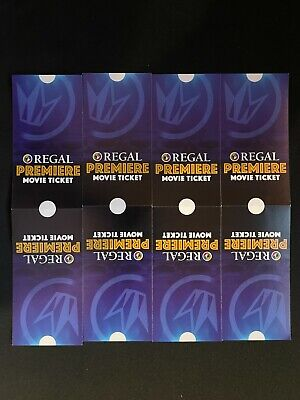 8 Regal Edwards United Artists Movie Tickets Never Expires No Restriction